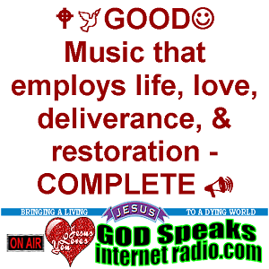 GOD Speaks Internet Radio