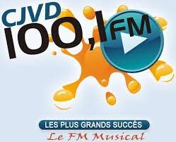 CJVD-FM - 100.1 FM